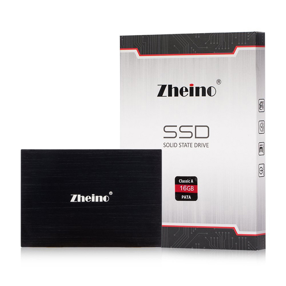 Zheino 2.5 IDE/PATA 16GB SSD MLC NAND FLASH Internal Solid State Drives For IBM X31 X32 T41 T43 T43P R51 V80 R60 DELL D610 D810 ...