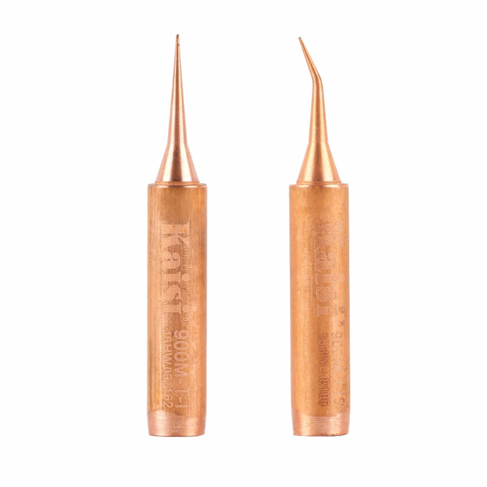 Kaisi Oxygen-free Copper Soldering Iron Tip 900M-T-I 900M-T-IS for Solder Station Tools Iron Tips new arrival 10pcs 900m t soldering tip pure copper electric iron head series solder tool hot sale