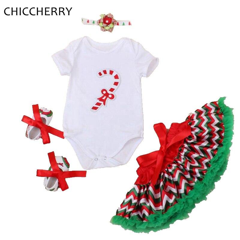 Santa Claus bastón Navidad traje mono Encaje Tutu falda diadema ...