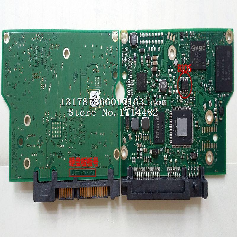 100731495 PCB logic board printed circuit board 100731495 REV B for Seagate 3.5 SATA hdd data recovery hard drive repair100731495 PCB logic board printed circuit board 100731495 REV B for Seagate 3.5 SATA hdd data recovery hard drive repair