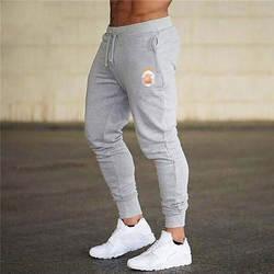 Мужские повседневные брюки для пробежек, спортивная одежда для мужчин, нижняя часть спортивного костюма, обтягивающие спортивные штаны
