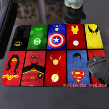 250x290x2mm Marvel Comics Superheroes Collage Customized Mouse Pad Fashion Avengers Computer Notebook Gaming Mice Mat Pad