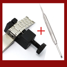 Watch Link for Band Slit Strap Bracelet Chain Pin Remover Adjuster Repair Tool  with Watch Repair Tool  Stainless Steel the link adjustment tool for stainless steel strap simple easy operation dismounting tool