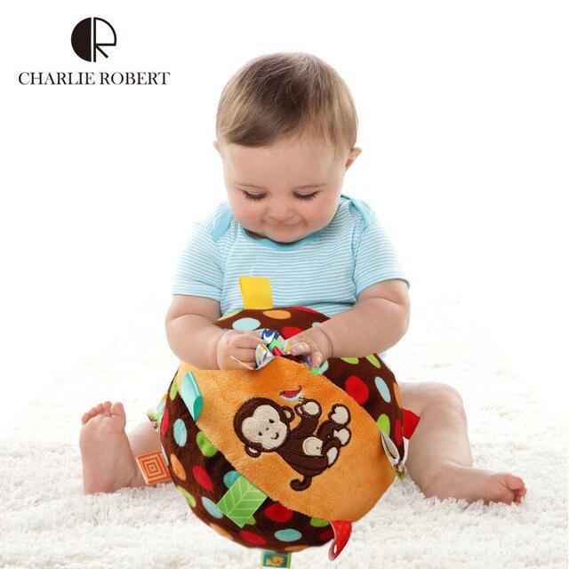 Big Baby Toys Mobile Baby Educational Shaker Infantil Hands Feet Trainning Ball Bed Car Hanging Plush Shaking Rattle HK1064