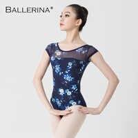 Ballett Trikots Für Frauen Yoga Sexy Dance Professional training gymnastik digitaldruck Trikots Ballerina 3540