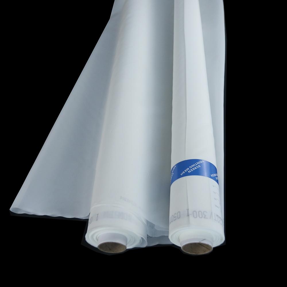 Free Shipping!!! 20 Meters 77T(195mesh) -55um-127cm White Polyester Monofilament Silk Screen Printing MeshFree Shipping!!! 20 Meters 77T(195mesh) -55um-127cm White Polyester Monofilament Silk Screen Printing Mesh