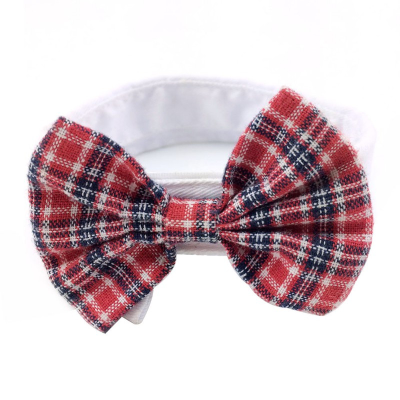 New Lovely Dog Puppy Kitten Pet Toy Bow Tie Necktie Collar Dog Ties Necktie Pet Clothes S M L Christmas Bows