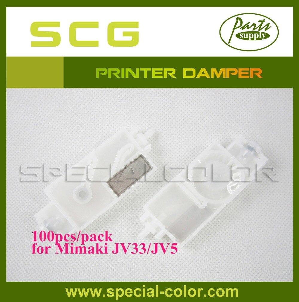 Factory Direct 100pcs/pack Partssupply Mimaki JV5 Printer Damper DX5 Solvent Damper