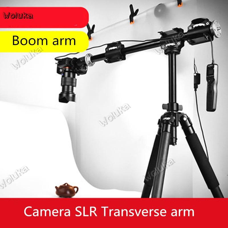 Camera SLR Four Head Transverse Arm Tripod Arm Bracket Tripod Extension Rod Shooting Crossbar Photographic Lamp Frame CD50 T03 H
