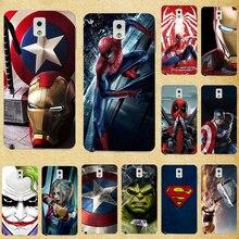 Super Hero Phone Case Cover For Samsung Galaxy Note 3 Silicone Back Cases For Samsung Note3 Note III N9000 N9005 N9002 5.7 inch