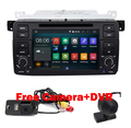 Quad Core 1024x600 Pure 2 Din Android 5.1 Car DVD for BMW E46 M3 Wifi 3G Bluetooth Radio RDS USB SD Steering wheel Free camera