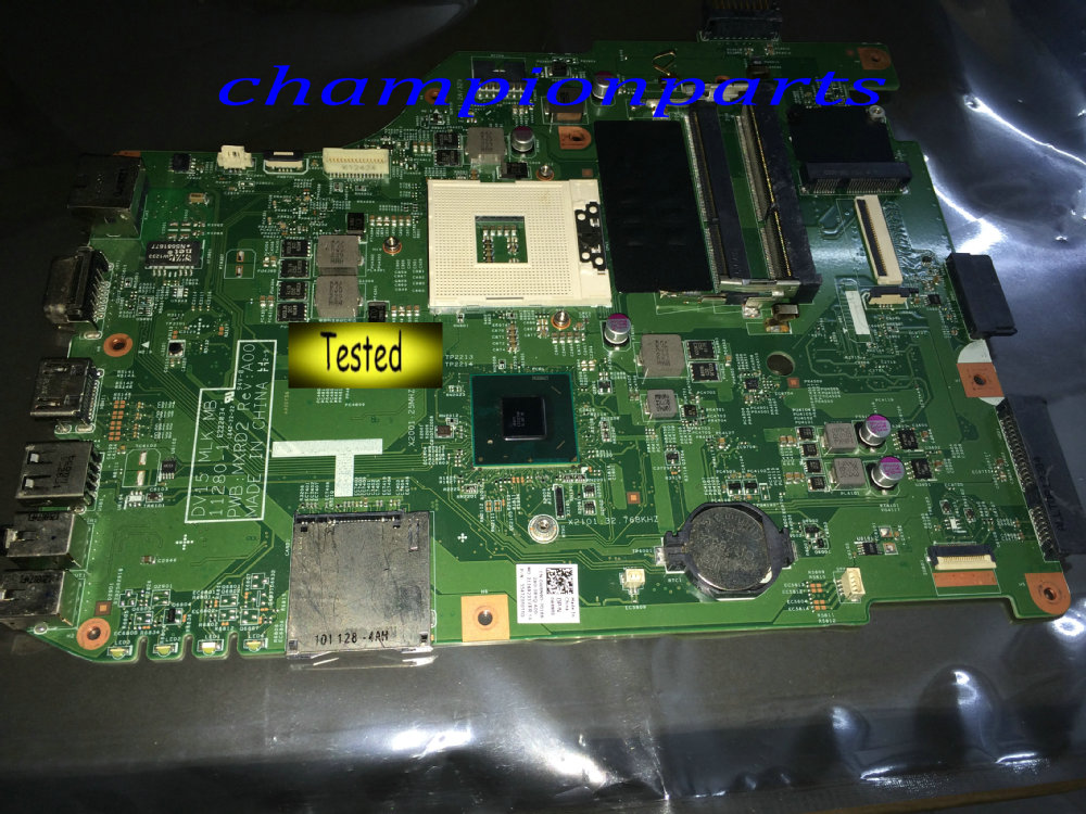 0W8N9D DV15 MLK MB MXRD2 Free Shipping Laptop Motherboard For Dell Inspiron 3520 Notebook