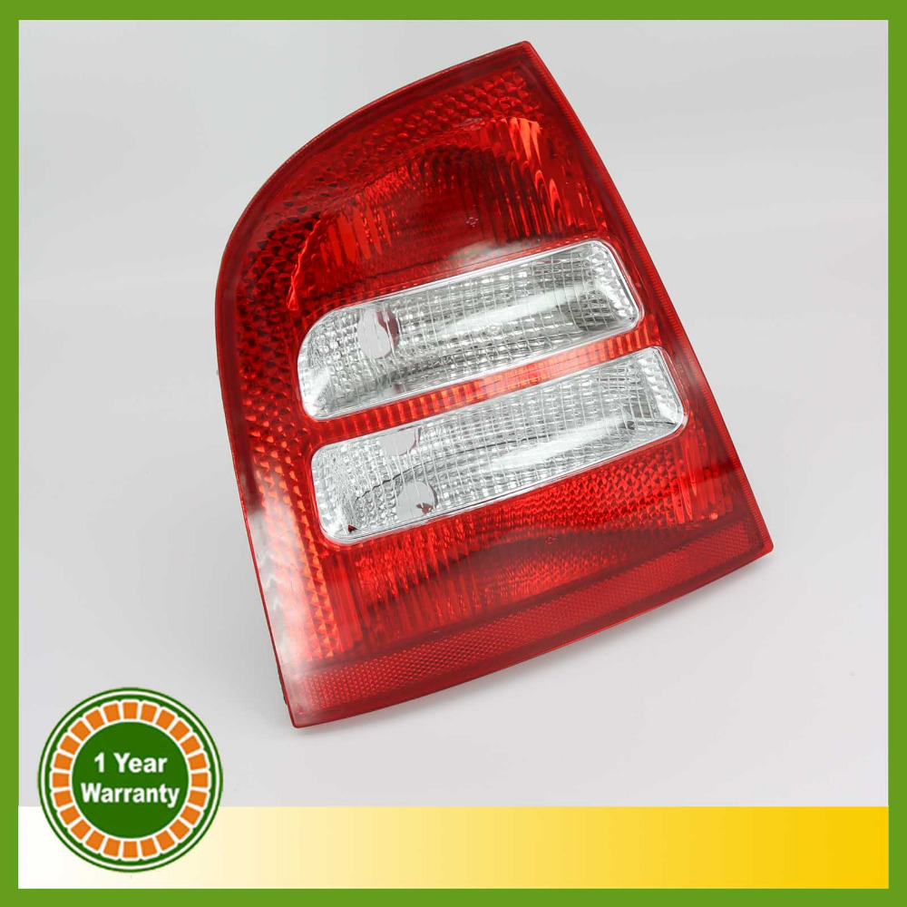 For Skoda Octavia A4 MK1 Sedan 2000 -2004 Left Side Tail Light Rear Light Car Styling free shipping for skoda octavia sedan a5 2005 2006 2007 2008 left side rear lamp tail light