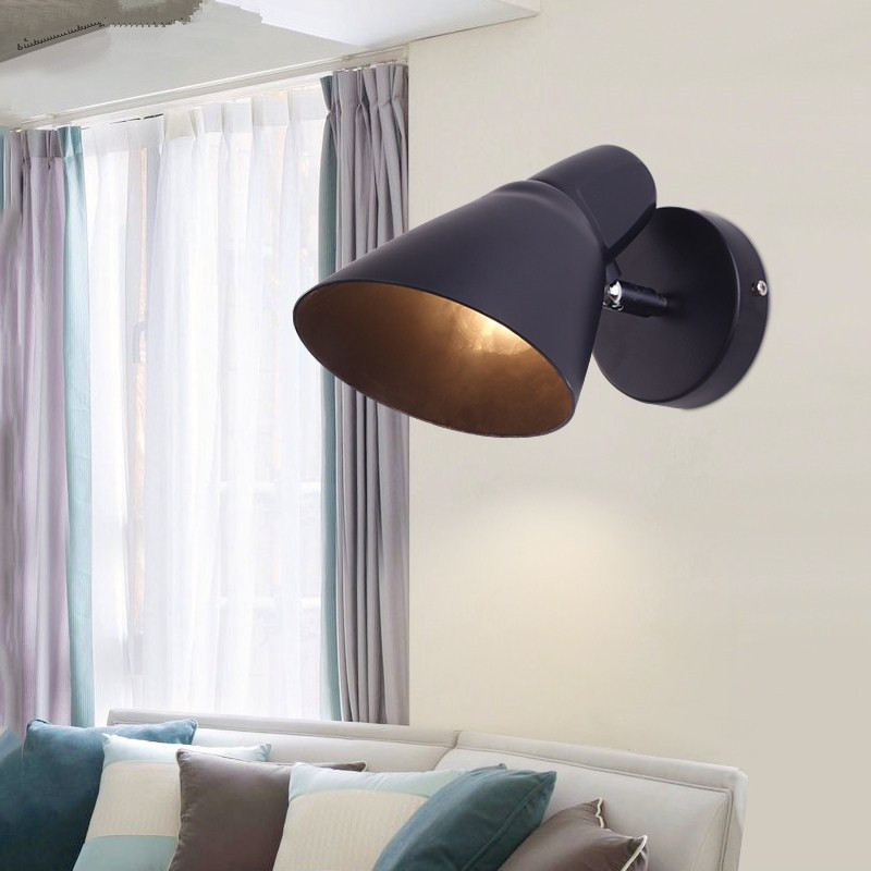 Modern Creative Concise Art Style Livingroom Wall Light Study Bedroom Restaurant Passage Balcony Decoration Lamp Free Shipping цена 2017