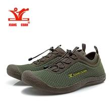 XIANGGUAN Running Zapatos para Hombre 2016 de Primavera y Verano Transpirable Zapatillas de Deporte Para Hombre respirable Luz de Malla barato zapatos de Entrenador Deportivo