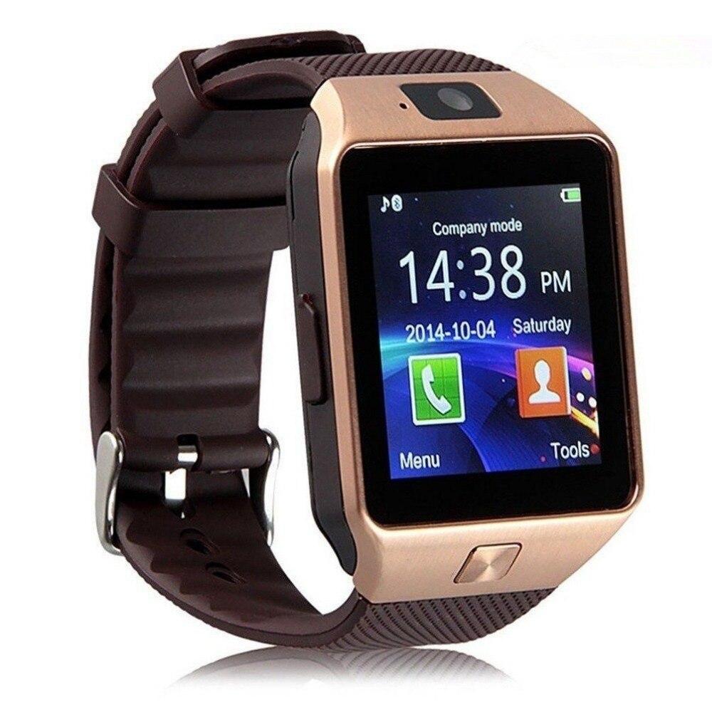 Bluetooth Smart Uhr Männer DZ09 Sport männer Uhr Für Telefon Android Anruf SIM Karte Kamera Smart Uhren Uhr Relogio intelligente