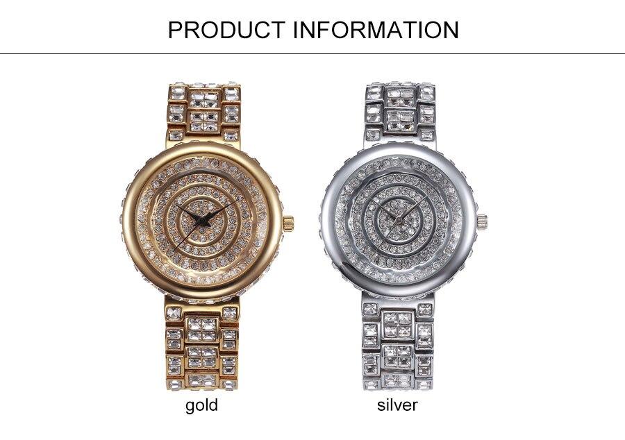 Pulseira de Relógio Das Mulheres de Prata