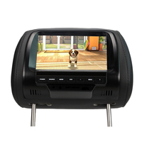 SH7038 7 Inches Car Monitor TFT LED Digital Screen Headrest Monitor Player for Car 2 Video input
