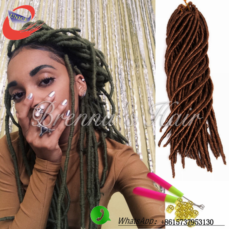 Wholesale 14 Inch 18 Inch Dread Locks Havana Mambo Twist Crochet
