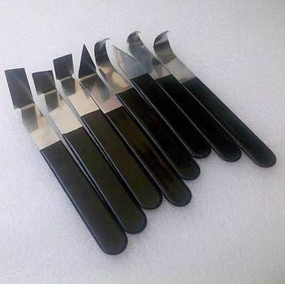 8 pc Sculpture Ensemble pour cire clay savon Spatule Crochet Poterie Outils 0050706