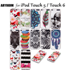 Cases For Coque iPod Touch 5 Clear Silicone Cute Animals Shell For Funda iPod Touch 6 Back Cover Case For Apple iPod Touch 5 6