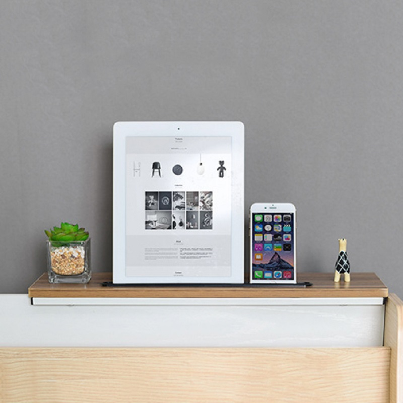 Adjustable Office Computer Desk Board Storage Rack Flower Stand Simple Computer Monitor Shelf Bezel Rack