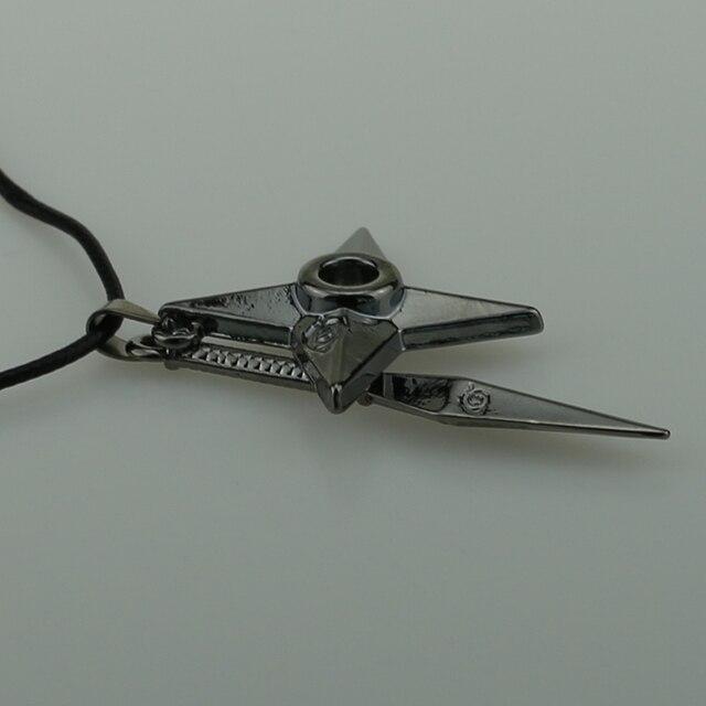 Naruto Leather Rope Ninja Cosplay Pendant