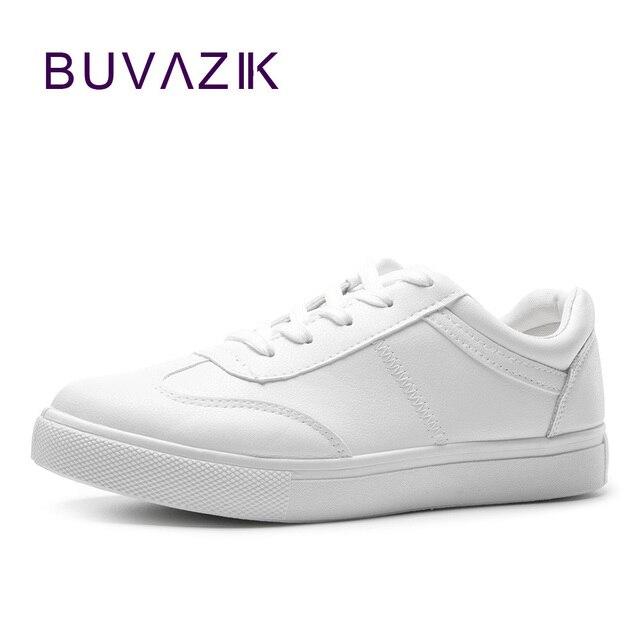 e265f0b0e 2018 moda sapatos de couro macio mulher branca tênis feminino calçado  confortável casual frete grátis