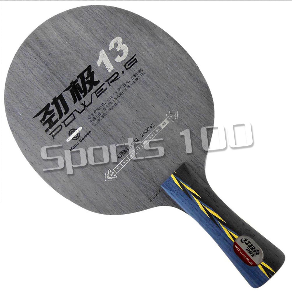 DHS POWER.G13 PG13 PG 13 PG.13 Mono-Carboon OFF+with Table Tennis (PingPong) Blade The new listing Favourite Fashion