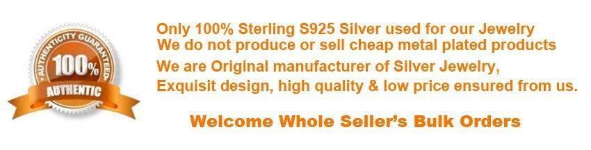 100% 925 sterling silver