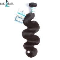 Lakihair Peruaanse Lichaam Wave Haar Weave Bundels Natuurlijke Kleur Menselijk haar 1 Stuk 8-30 inch Kunt Meng Lengte Remy Haar bundels