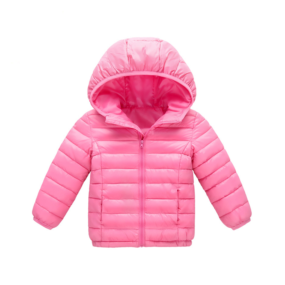 купить children jacket Outerwear Boy and Girl autumn Warm Cotton Hooded Coat teenage parka kids winter jacket Size 4 6 8 10 12 14 years по цене 2655.3 рублей