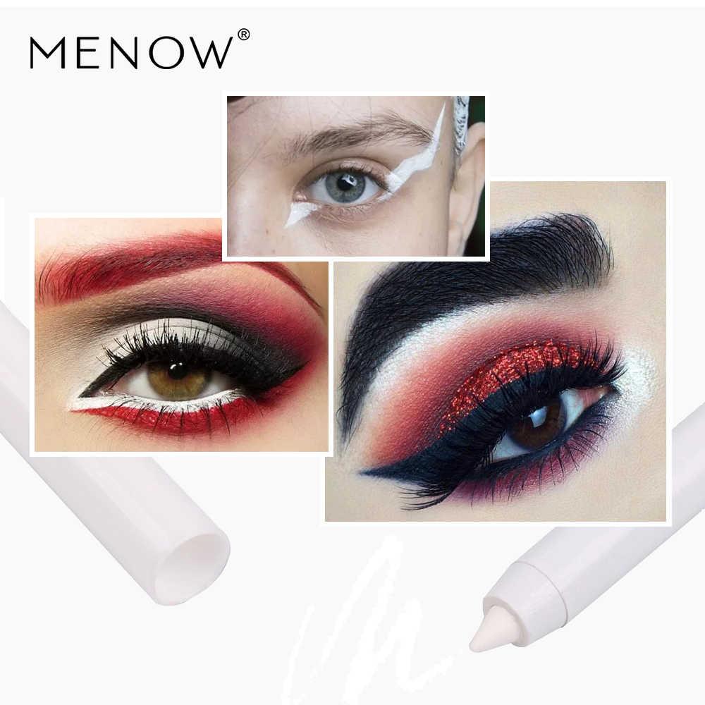MENOW Marca Make Up Set Glitter Eyeshadow & Conjuntos de Cosméticos Delineador Líquido & Pearly Bicho PenThree Navio Da Gota 8075