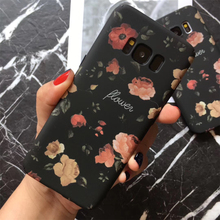 Retro Floral Phone Cases Samsung Galaxy S7 S8 S9 Plus Note8