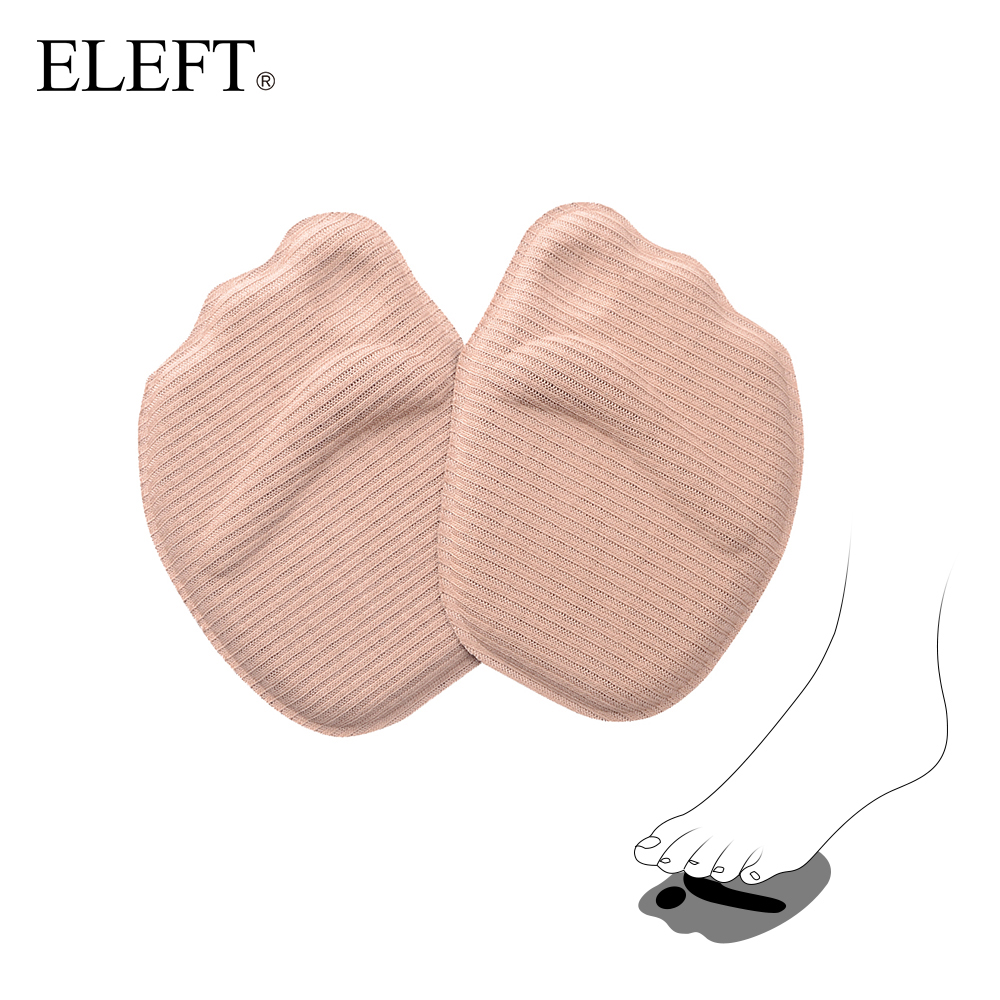 ELEFT 4D Sponge forefoot arch support Ball Foot pad pads insoles inserts shoes woman brand socks high heels shoes accessories
