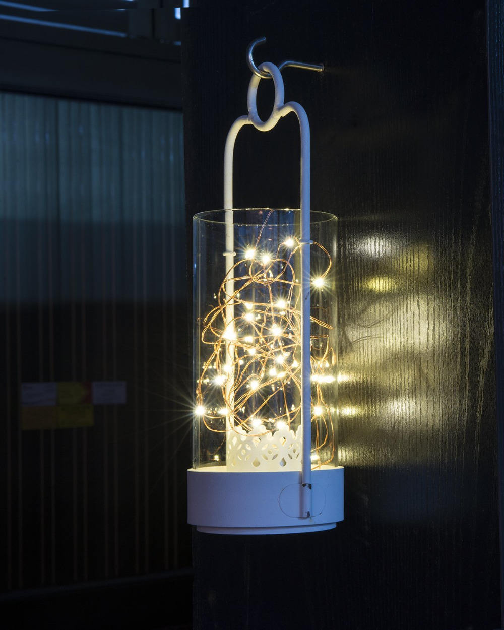 Battery Powered Copper Wire LED