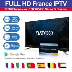 DATOO Italy France IPTV 1 Year Code Subscription IP TV France Portugal Spain Arabic Italy French IPTV France Arabic Italy DATOO