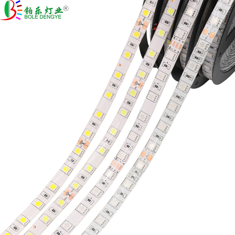 DC 12V Flexible LED Strip Light SMD 2835 5050 White Warm White Blue Green RED RGB LED Strip For Living Room Bedroom Decoration