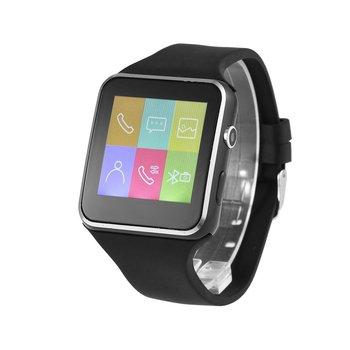 رجل ساعة ساعة bluetooth ذكية الهاتف X6 Smartwatch ساعة اليد ل IOS الروبوت مع كاميرا 2018 جديد Montre أوم