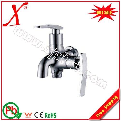 Comprar L16262 latón 2 Función babero del grifo montado en la pared de agua del grifo de bib tap fiable proveedores en Xinli Sanitary Ware Flagship Store