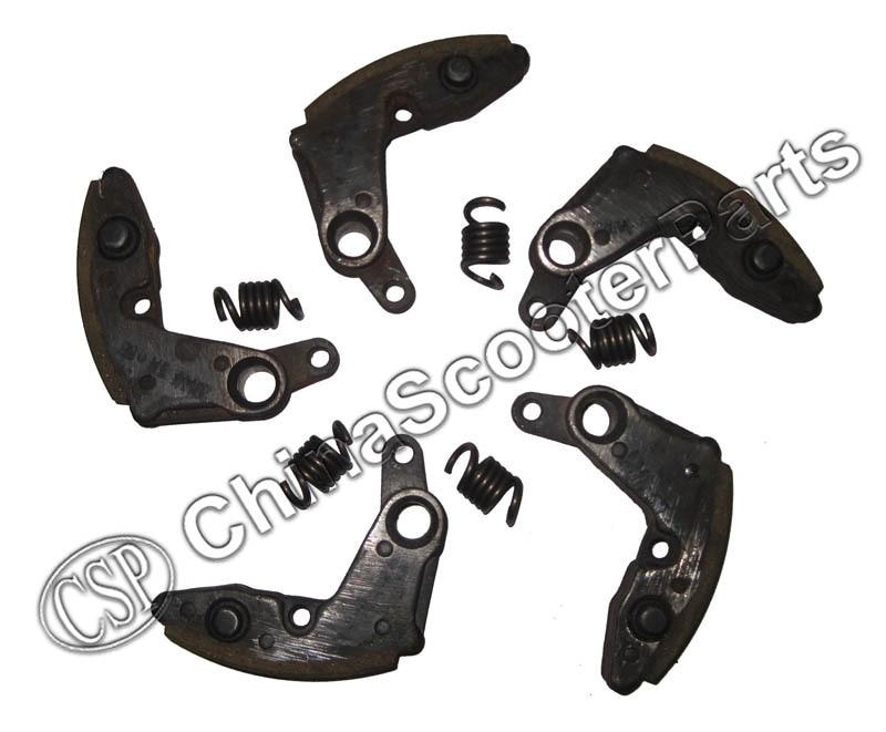 5PCS A Set Clutch Pads With Spring  CFMOTO CF MOTO 500 500CC ATV UTV Go Kart Engine  Pad 0180-054200