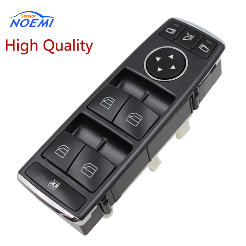 YAOPEI 2128208310 de alta calidad para Mercedes W204 W212 C E Class Drivers Side Electric Window Switch A2128208310