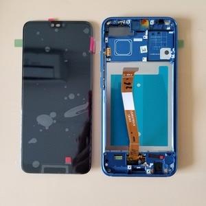 Image 5 - Originele Met Vingerafdruk Voor Huawei honor 10 COL L29 Lcd Touch Screen Digitizer Vergadering Voor Huawei honor 10 Global LCD
