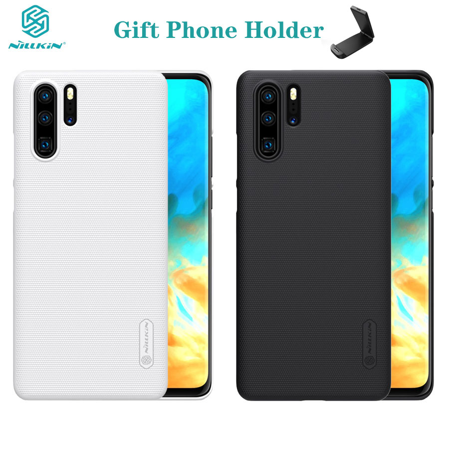 For Huawei P30 Case P30 PRO Cover Huawei P30 lite Nova 4e Case Nillkin Super Frosted Shield Hard PC Back Cover For Huawei P30PRO