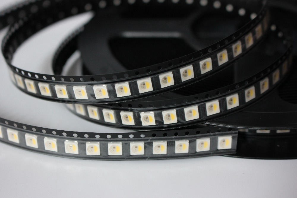 Diodes 100pcs Wavgat Ws2812b 4pin 5050 Smd Ws2812 Individually Addressable Digital Rgb Led Chip 5v Led Chip Smd Soft And Light Active Components