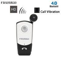 New FineBlue F960 Wireless Driver Bluetooth Earphone Headset Calls Remind Vibration Wear Clip Sports Running Headphone