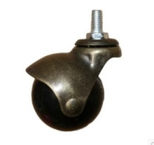 3Pieces/Lot M10 Diameter:48mm  Bronze Color Spherical Ball Universal Wheel Caster