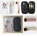 ENERGY Brand Professional Make Up Makeup Brushes Set Cosmetic Kit + Bag + Kabuki Brush + Oval Brush + Face Cleansing Brush +Puff