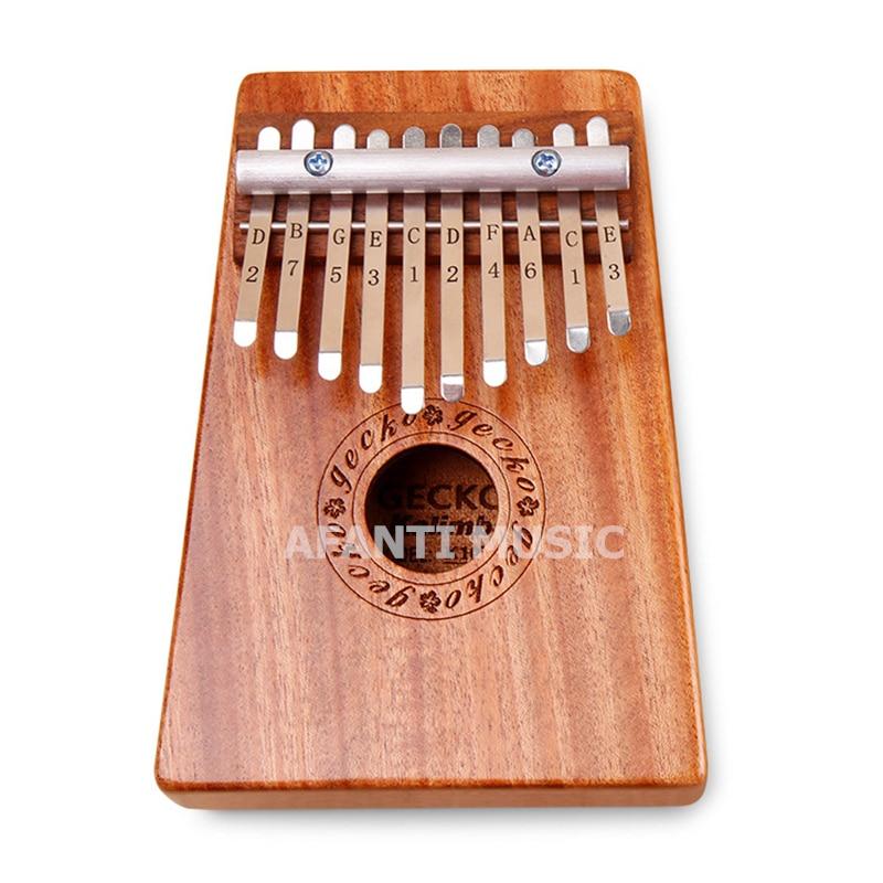 Afanti Music 10 Keys Kalimba Mbira  Thumb Piano  Mahogany Traditional African Music Instruments 10 tone (THP-116)Afanti Music 10 Keys Kalimba Mbira  Thumb Piano  Mahogany Traditional African Music Instruments 10 tone (THP-116)