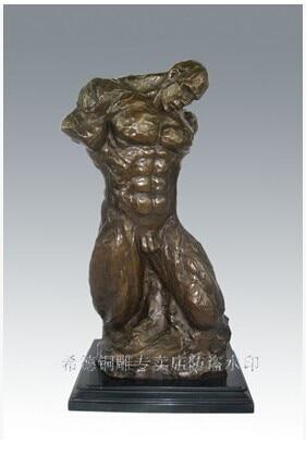 Moderne Kunst Skulpturen atlie bronzen moderne kunst bronze statue abstract mann power